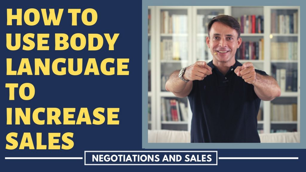 How to Use Body Language to Increase Sales